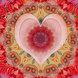 Karen Brody Red Heart