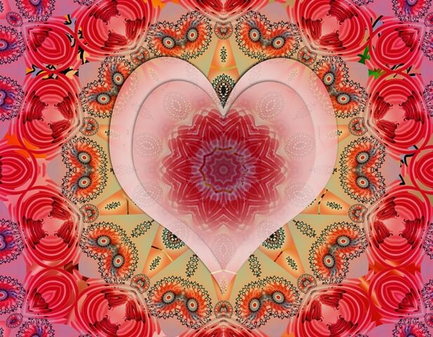 Karen Brody Red Heart