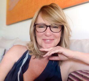 Karen Brody smiles